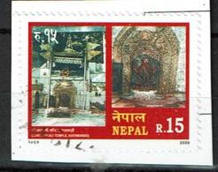 Nepal Postzegel Uit 2000 - Népal