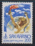 San Marino 1978 Human Rights 1v ** Mnh (43231H) - San Marino