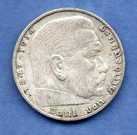Allemagne  - 2 Reichsmark 1937 A --  état  TTB - [ 3] 1918-1933: Weimarrepubliek