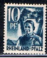A2 758 // YVERT 3 // 1947-48 - Zone Française