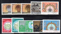 APR1458 - LIBIA LYBIA 1969 , Yvert N. 342/344+345+346/347+348/349+350/351 ***  MNH (2380A) . CINQUE SERIE - Libia
