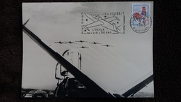CPSM SALON DE PROVENCE L ECOLE DE L AIR A 30 ANS 1965 CARTE MAXIMUM FLAMME - 1946-....: Moderne