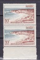 N° 978 Série Touristique: Royan :  Belle Paire De 2 Timbres Neuf Impeccable Sans Charnière - France