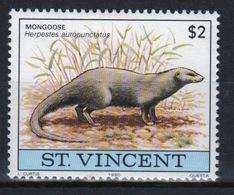 St.Vincent 1980 Single $2 Stamp From The Wildlife Set. - St.Vincent (1979-...)
