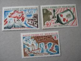 S P M  P 376/378 **  AMENAGEMENTS - St.Pierre Et Miquelon