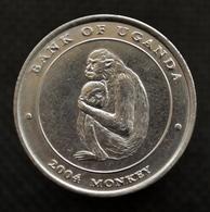 Uganda 100 Shillings 2004 (Year Of The Monkey) COIN UNC. Km203 - Uganda