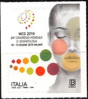 Italia 2019 Congresso Mondiale Di Dermatologia - 6. 1946-.. Republik