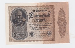 Billet De1000 Mark  De 1922  Pick 82  Neuf - [ 2] 1871-1918 : Empire Allemand