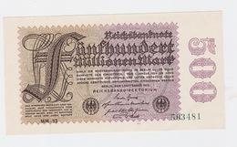Billet De 500 Millions Mark  De  1-9-1923  Pick 110  Neuf Uniface - [ 2] 1871-1918 : Duitse Rijk