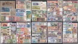 Ca. 100 Stück Verschiedene Banknoten Welt Mit Etwas  Deutschland - Banknoten