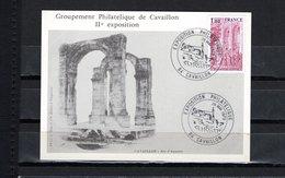 FRANCE  LUXE  CARTE  SOUVENIR   EXPOSITION  PHILATELIQUE CAVAILLON  26/5/79 - 1970-79