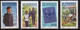 St.Vincent 1983 Set Of Stamps To Celebrate Centenary Of The Boys Brigade Overprinted Specimen. - St.Vincent (1979-...)