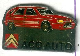 Pin's Voiture Automobile Citroën ZX ACC AUTO - Citroën