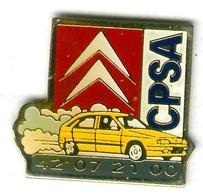 Pin's Voiture Automobile Citroën ZX CPSA - Citroën