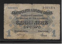 Bulgarie - 1 Lev - Pick N°14 - B - Bulgarie