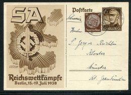 Deutsches Reich / Sonderpostkarte Mi. P 271 O (18327) - Service