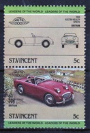 St.Vincent 1984 Pair Of Set Stamps From The Automobile Set. - St.Vincent (1979-...)
