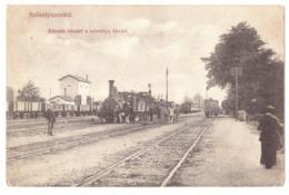 RO 70 - 16144 LUNCA MURESULUI, TRAIN And Railway Station, Romania - Old Postcard - Used - 1911 - Roemenië