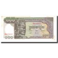 Billet, Cambodge, 100 Riels, Undated (1957-75), KM:8c, SUP - Cambodia
