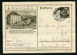 Deutsches Reich / 1938 / Bildpostkarte > OBERSCHLEMA, Steg-Stempel Neuendorf (18334) - Deutschland
