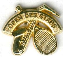 Pin's Tennis Open Des Stars Musique Saxophone - Tenis