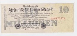 Billet De 10 Million Mark Du 25-7-1923 Uniface   Pick 96 - [ 3] 1918-1933 : République De Weimar