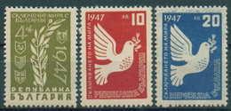 + 0642 Bulgaria 1947 Return To Peace At The Close WWII **MNH / Friedensschluss Bulgarie Bulgarien Bulgarije - Nuovi