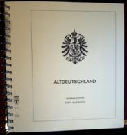 Fogli Lindner Antichi Stati Tedeschi Su Album - Album & Raccoglitori