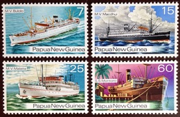 Papua New Guinea 1976 Ships MNH - Papouasie-Nouvelle-Guinée