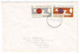 Ref 1307 - 1965 Tristan Da Cunha FDC First Day Cover - ITU - Tristan Da Cunha