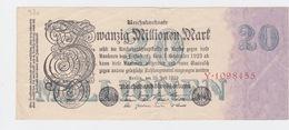 Billet De 20 Million Mark Du 25-7-1923 Uniface   Pick 97a - Otros