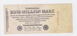 Billet De 1 Million Mark Du 25-7-1923 Uniface   Pick 94 - [ 3] 1918-1933 : République De Weimar