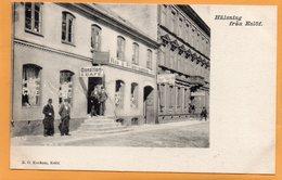 Halsing Fran Eslof Eslov Sweden 1900 Postcard - Zweden