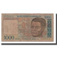 Billet, Madagascar, 1000 Francs = 200 Ariary, Undated (1994), KM:76b, B - Madagascar