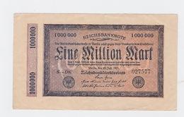 Billet De 1 Million Mark Du 25-7-1923 Uniface   Pick 93 - [ 3] 1918-1933 : République De Weimar