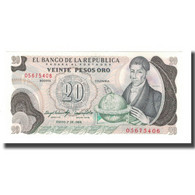 Billet, Colombie, 20 Pesos Oro, 1983, 1983-01-01, KM:409A, NEUF - Colombia