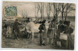 12 L'AVEYRON PITTORESQUE 103   Foire Aux Vaches Paysans En Affaire Tomberont Ils D'accord 1906  D09 2019 - Non Classificati