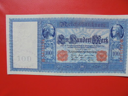100 MARK 1910 ALPHABET: B CIRCULER (B.4) - [ 2] 1871-1918 : German Empire