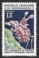 Nouvelle Calédonie  1964-65 -   YT 324 -  Aquarium  - Hymenocera Elegans - NEUF** - Cote 5.50e - Nouvelle-Calédonie