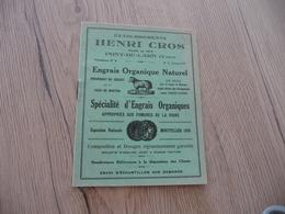 Catalogue Pub Publicité Petit Format Henri Cros Pont De Larn Engrais 16 Pages - Publicités