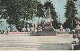 AK Veracruz Vera Cruz Monumento Estatua A Gutierrez Zanora Zamora Costa De Oro Boca Del Rio Mexiko Mexico Tarjeta Postal - México