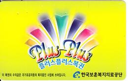 SOUTH KOREA - Plus Plus(W 3000), Used - Korea (Zuid)