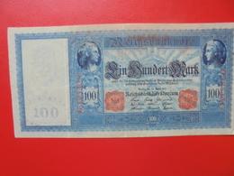 100 MARK 1910 ALPHABET: G CIRCULER (B.4) - [ 2] 1871-1918 : Empire Allemand