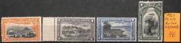 [836419]TB//**/Mnh-Congo Belge 1921 - PA1/4,  Avions, Transports - Congo Belge