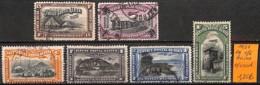 [836425]TB//O/Used-Congo Belge 1921 - PA1/6,  Avions, Transports - Congo Belge