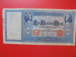 100 MARK 1910 ALPHABET: G CIRCULER (B.4) - [ 2] 1871-1918 : German Empire