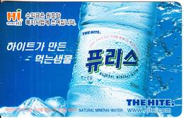 SOUTH KOREA - Hite Water(W 3000), Used - Korea (Zuid)