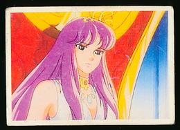 """Vignette """"Les Chevaliers Du Zodiaque"""", N° 15 (1986), Album SFC, Collection """"Tes Super Héros"""" - Stickers"""