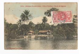 Côte D'Ivoire Bingerville Bord De La Lagune Ebrié Carte Postale Ancienne - Ivory Coast