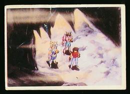 """Vignette """"Les Chevaliers Du Zodiaque"""", N° 158 (1986), Album SFC, Collection """"Tes Super Héros"""" - Adesivi"""